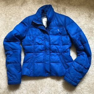 ABERCROMBIE AND FITCH PUFFER COAT | L